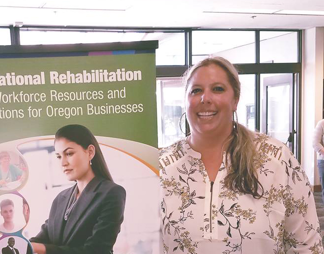 Cortney Gibson - Vocational Rehabilitation Counselor (VRC) - Careers that make a difference - Impact Oregon